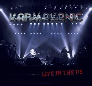 Karmakanic - Live In The Us CD (album) cover