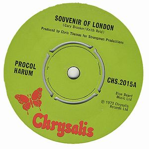 PROCOL HARUM - Souvenir Of London CD album cover