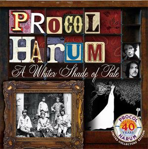 PROCOL HARUM - A Whiter Shade Of Pale - 40th Anniversary Edition CD album cover