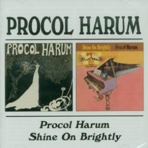 Procol Harum - Procol Harum/shine On Brightly CD (album) cover