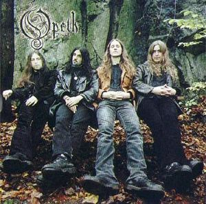 Opeth - The Drapery Falls CD (album) cover