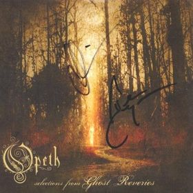 OPETH - Selections From Ghost Reveries CD album cover