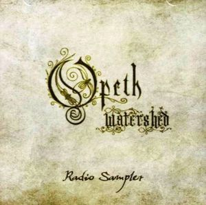 OPETH - Watershed - Radio Sampler CD album cover