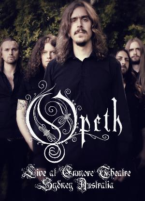 Opeth - Live At Enmore Theatre Sidney Australia DVD (album) cover