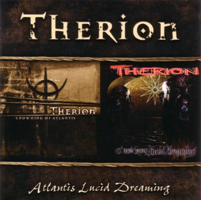 Therion - Atlantis Lucid Dreaming CD (album) cover