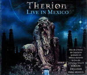 Therion - Therion ‎- Live In Mexico CD (album) cover