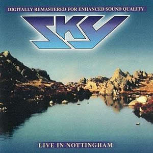 Sky - Live In Nottingham CD (album) cover