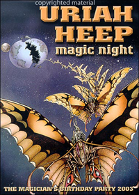 Uriah Heep - Magic Night DVD (album) cover