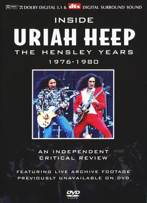 Uriah Heep - Inside Uriah Heep - The Hensley Years 1976-1980 DVD (album) cover