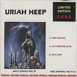 Uriah Heep - Lady In Black CD (album) cover