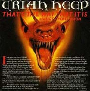 Uriah Heep - That's The Way That It Is CD (album) cover