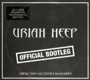 Uriah Heep - Official Bootleg Bad Rappenau 2009 CD (album) cover