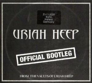 Uriah Heep - Official Bootleg Krefeld 2009 CD (album) cover