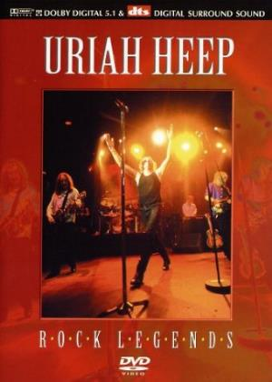 Uriah Heep - Classic Rock Legends (dvd) DVD (album) cover