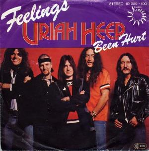 Uriah Heep - Feelings CD (album) cover