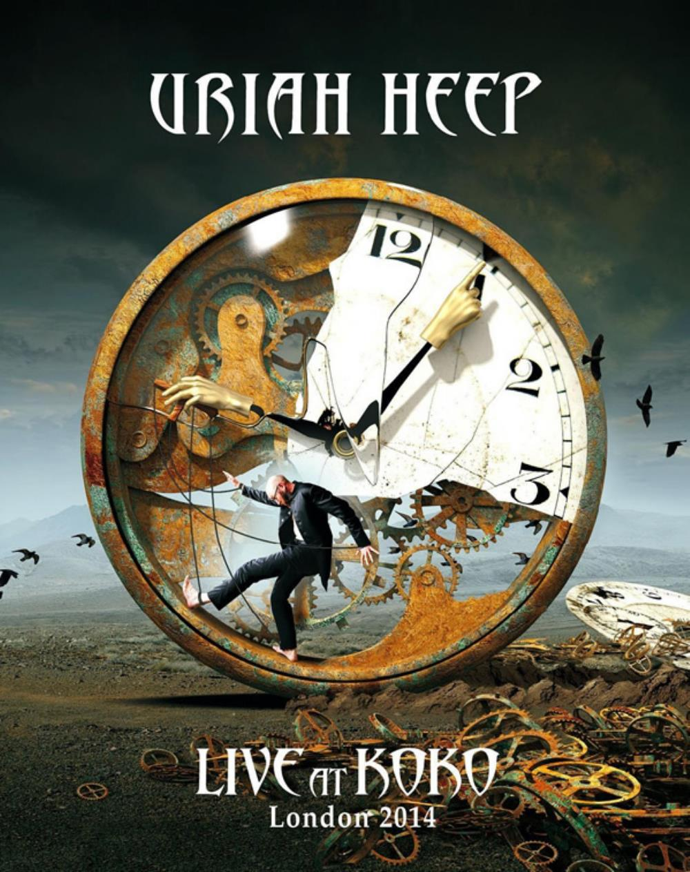 Uriah Heep - Live At Koko - London 2014 DVD (album) cover