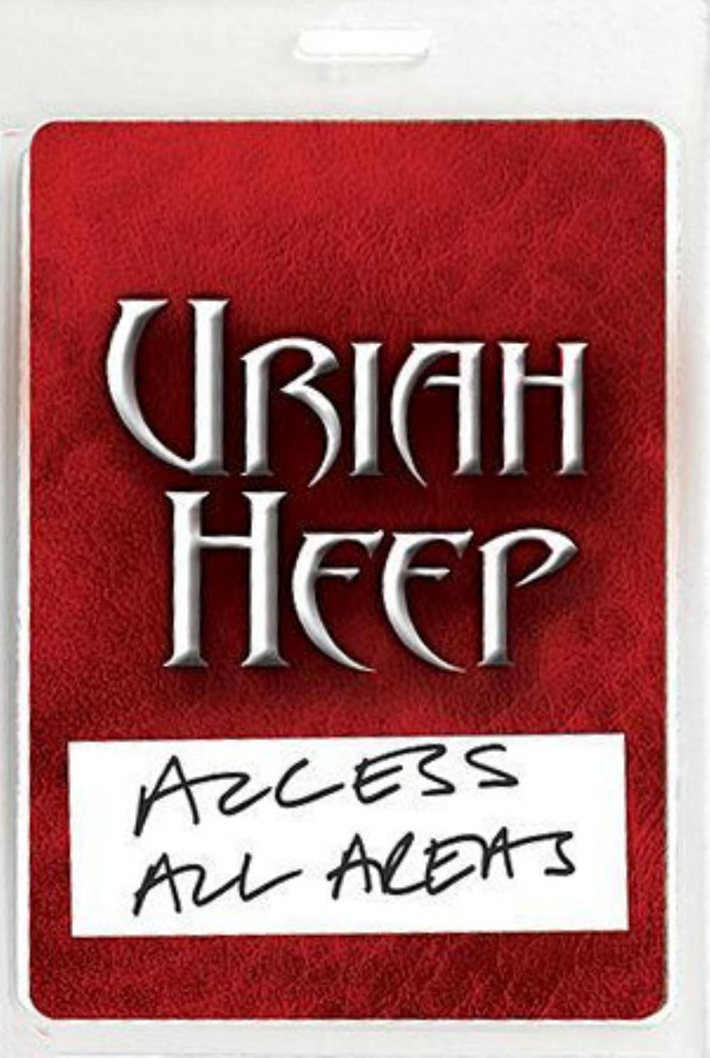 Uriah Heep - Access All Areas (live In Moscow) DVD (album) cover