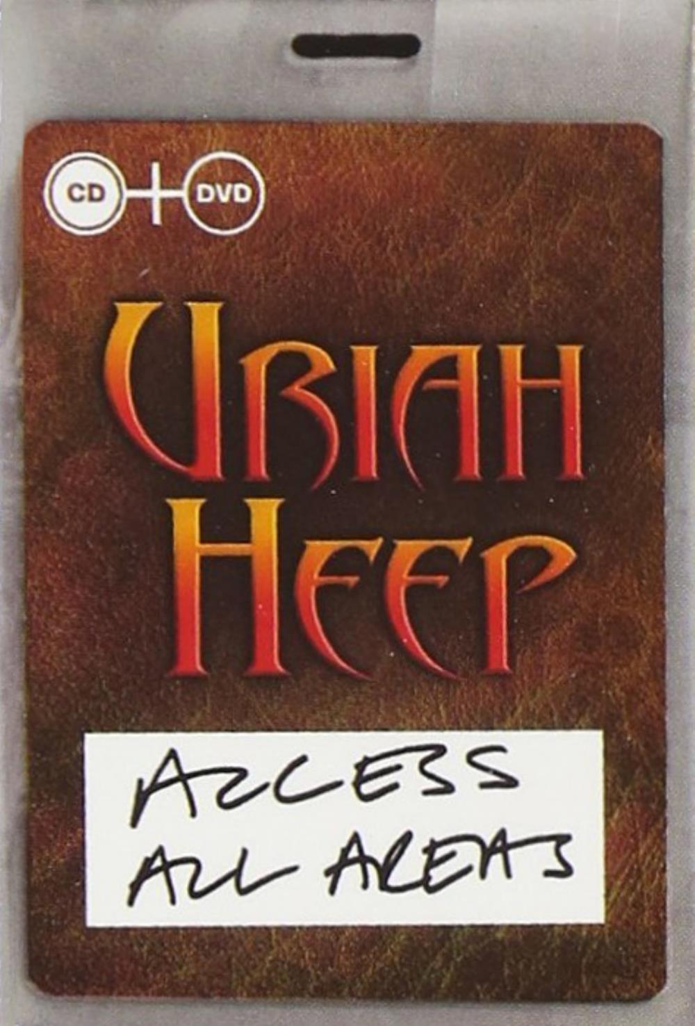 Uriah Heep - Access All Areas (20th Anniversary Concert) DVD (album) cover