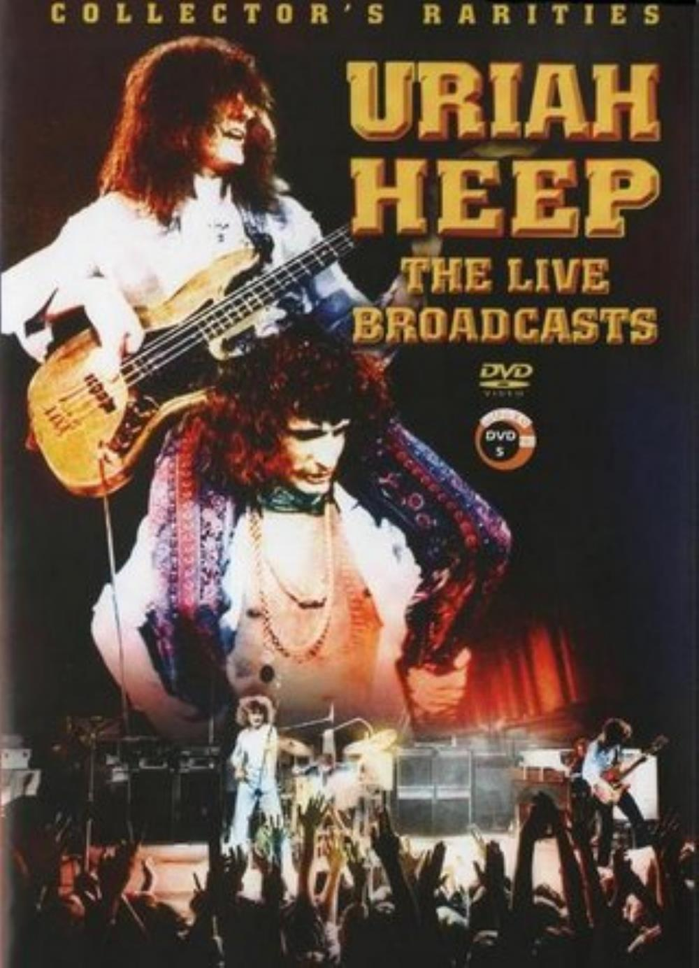 Uriah Heep - The Live Broadcasts DVD (album) cover