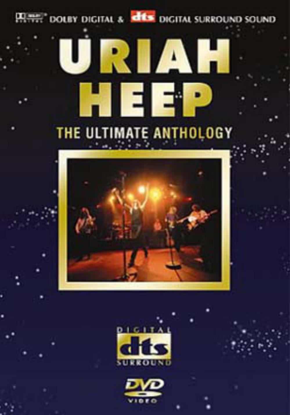 Uriah Heep - The Ultimate Anthology DVD (album) cover