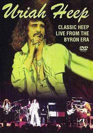 Uriah Heep - Classic Heep - Live From The Byron Era DVD (album) cover