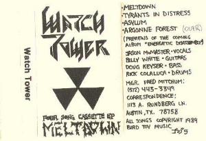Watchtower - Meltdown CD (album) cover