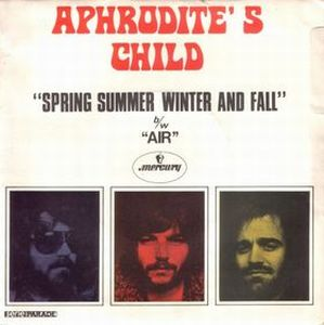 Aphrodite's Child - Spring Summer Winter And Fall CD (album) cover