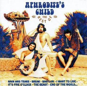 Aphrodite's Child - The Best Of Aphrodite's Child CD (album) cover