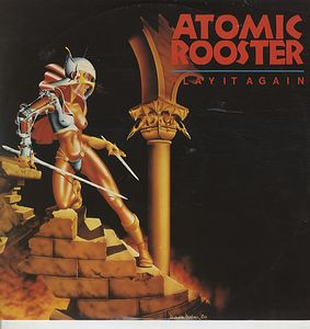 Atomic Rooster - Play It Again 12'' CD (album) cover