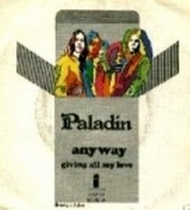 Paladin - Anyway CD (album) cover
