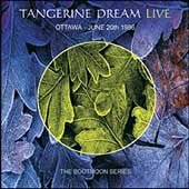 Tangerine Dream - Ottawa - June 20th 1986 CD (album) cover