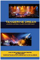 Tangerine Dream - London Astoria Club Concert 2007  DVD (album) cover