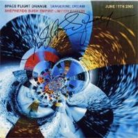 Tangerine Dream - Space Flight Orange CD (album) cover