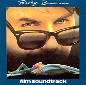 Tangerine Dream - Risky Business Ost CD (album) cover