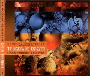 Tangerine Dream - Mars Mission Counter CD (album) cover