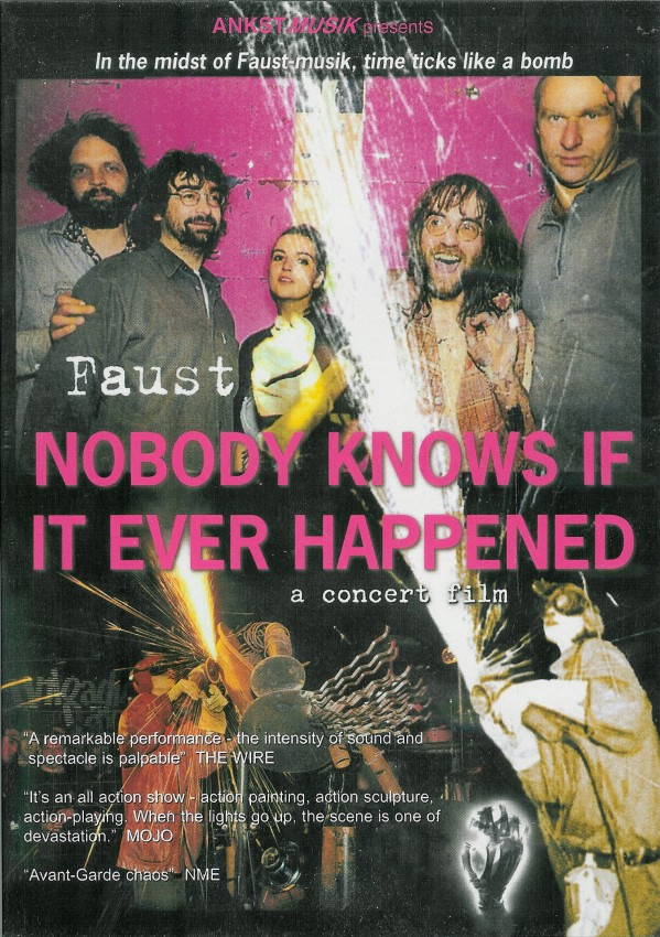 Faust - Nobody Knows If It Really Happened DVD (album) cover