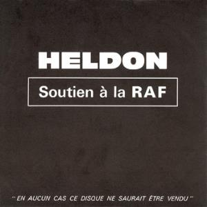 Heldon - Soutien à La Raf CD (album) cover