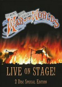 Jeff Wayne - Jeff Wayne's Musical Version : The War Of The Worlds, Live On Stage DVD (album) cover