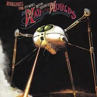 Jeff Wayne - Highlights From The War Of The Worlds CD (album) cover