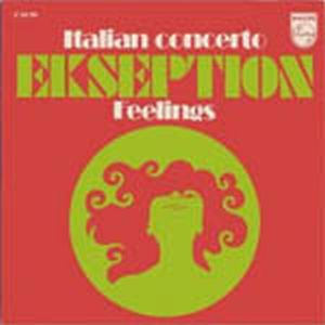 Ekseption - Italian Concerto CD (album) cover