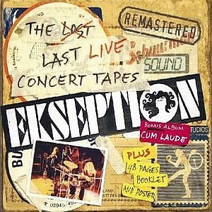 Ekseption - The Lost Last Live Concert Tapes CD (album) cover