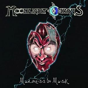 Moonlight Circus - Madness In Mask CD (album) cover