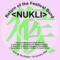 Nukli - Return Of The Festival Band CD (album) cover