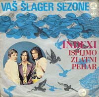 Indexi - Ispijmo Zlatni Pehar CD (album) cover