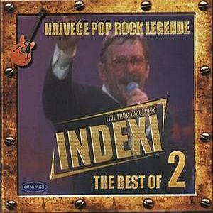Indexi - The Best Of Indexi: Live Tour 1998/1999 Vol. 2 CD (album) cover
