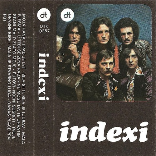 Indexi - Indexi (mc Diskoton) CD (album) cover