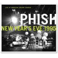 Phish - Live In Madison Square Garden - New Year's Eve 1995 CD (album) cover