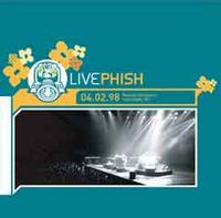 PHISH - 04.02.98 Nassau Coliseum, Uniondale, NY CD album cover