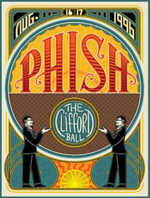 Phish - The Clifford Ball DVD (album) cover