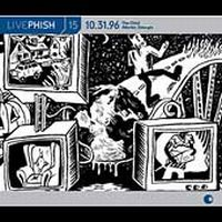 PHISH - Live Phish 15 CD album cover